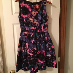 Taylor brand Fit and Flare Scuba Dress